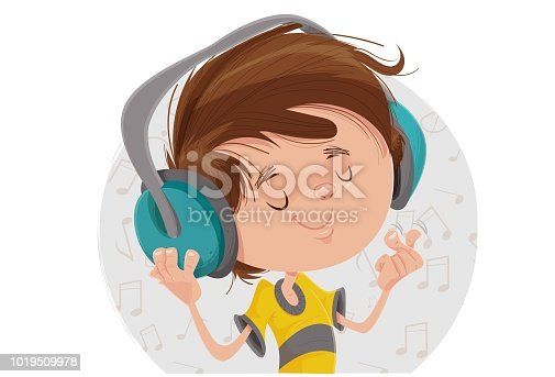 istock The boy and the music 1019509978