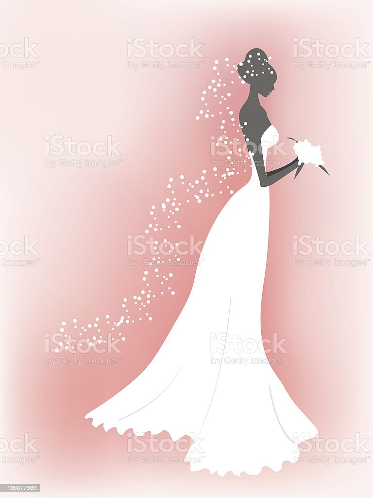 The Bride royalty-free stock vector art