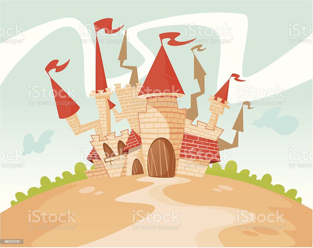 The Castle of Gogo.. royalty-free the castle of gogo stock vector art & more images of ancient