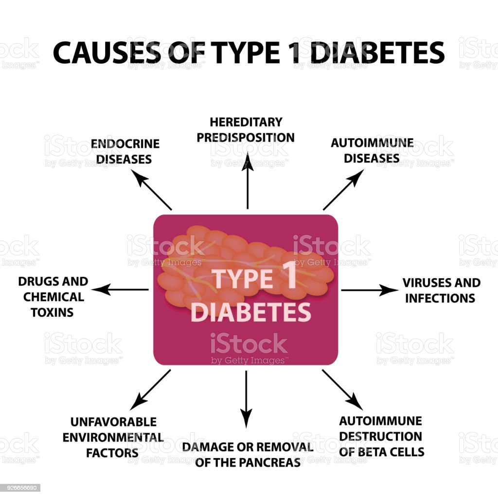 diabetes tipo 1 ursachen von