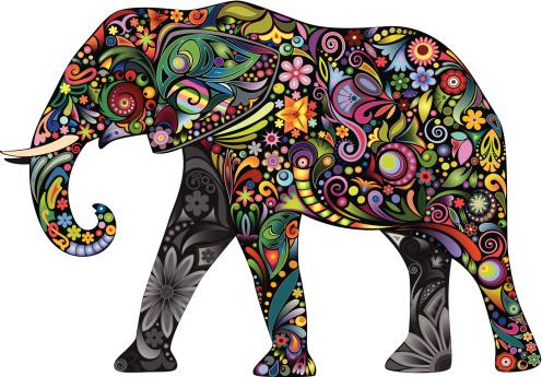The cheerful elephant II