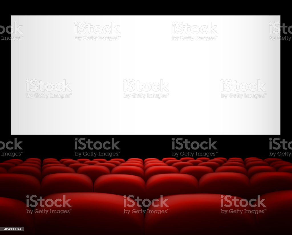 royalty free movie theater screen clip art vector images rh istockphoto com  outdoor movie screen clipart