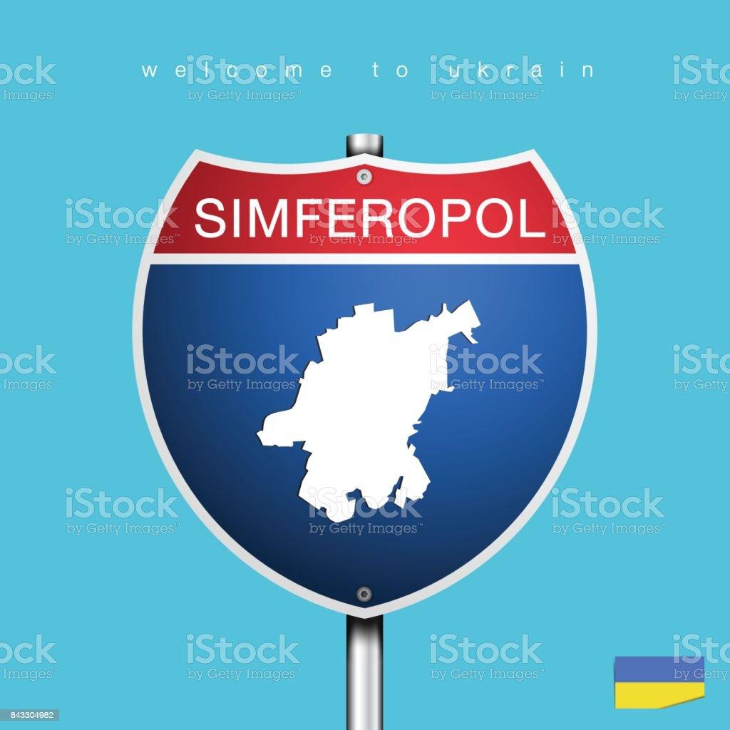 Die Energiestadt Und Karte Von Ukrain In Amerikanischen ...