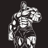 The coach of bodybuilding and fitness