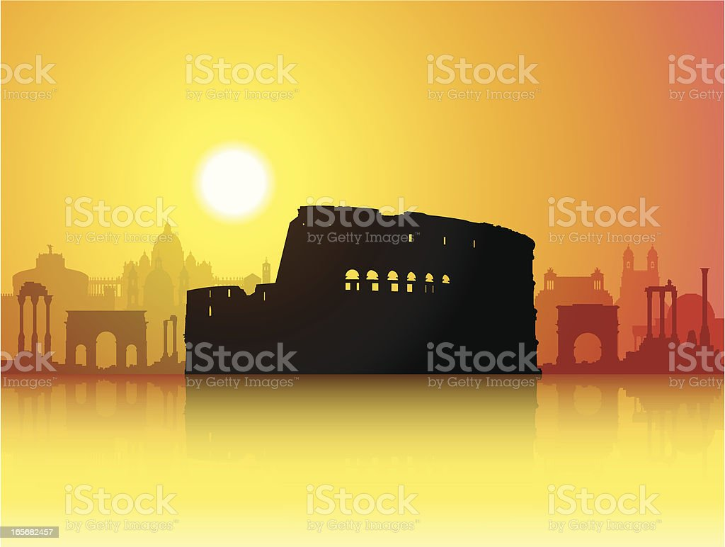 The Colosseum royalty-free the colosseum stock vector art & more images of architecture