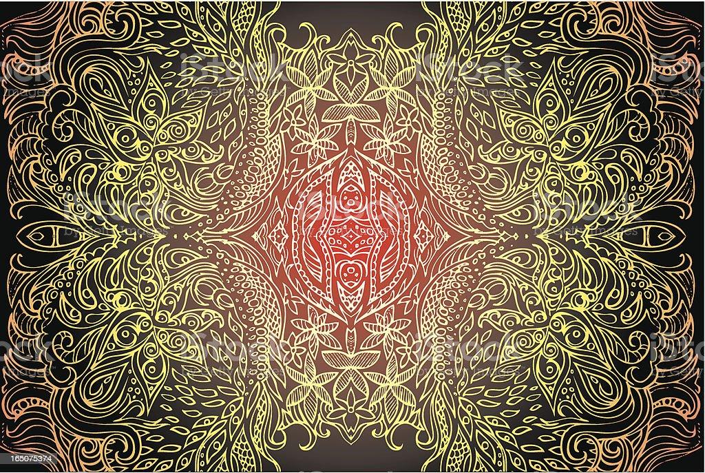 the cosmic egg royalty-free stock vector art