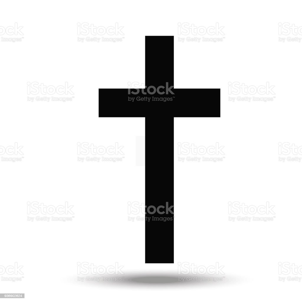 The Cross A Symbol Of The Christian Religion Stock Vector Art More