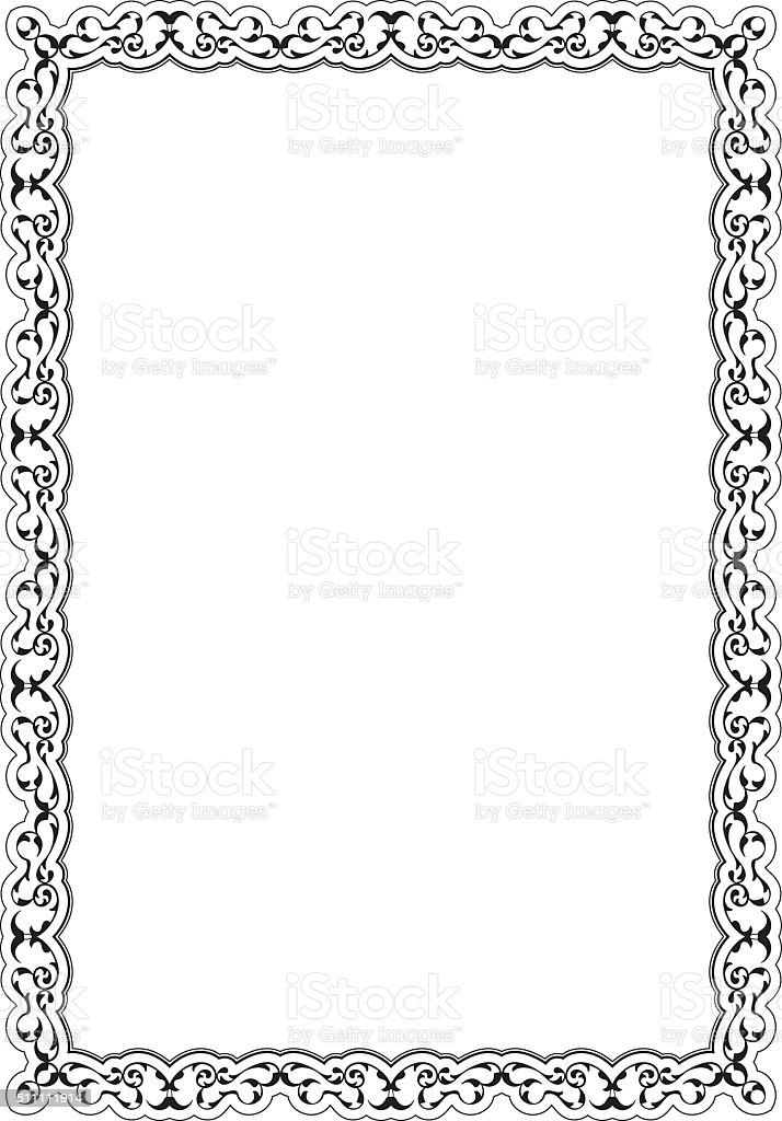 The Decor Retro Nice Frame Stock Vector Art & More Images of ...