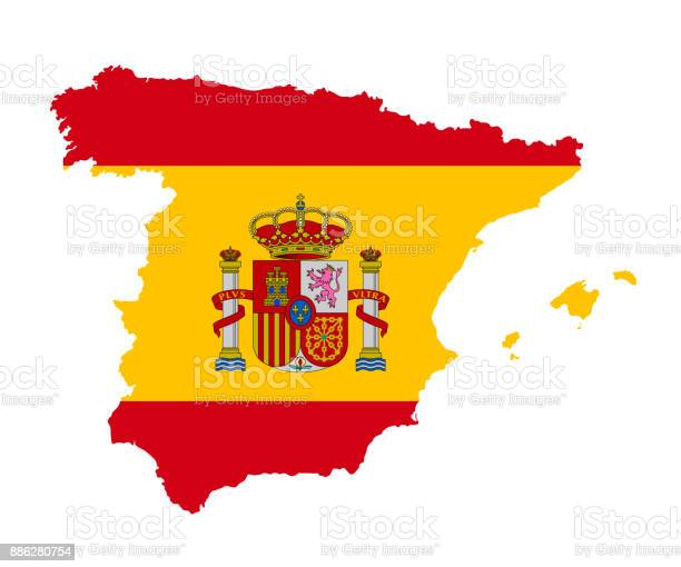 Map Of Spain Vector Free.Map Of Spain Free Vector Art 71 Free Downloads