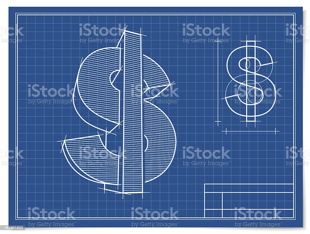 The Dollar Project royalty-free stock vector art
