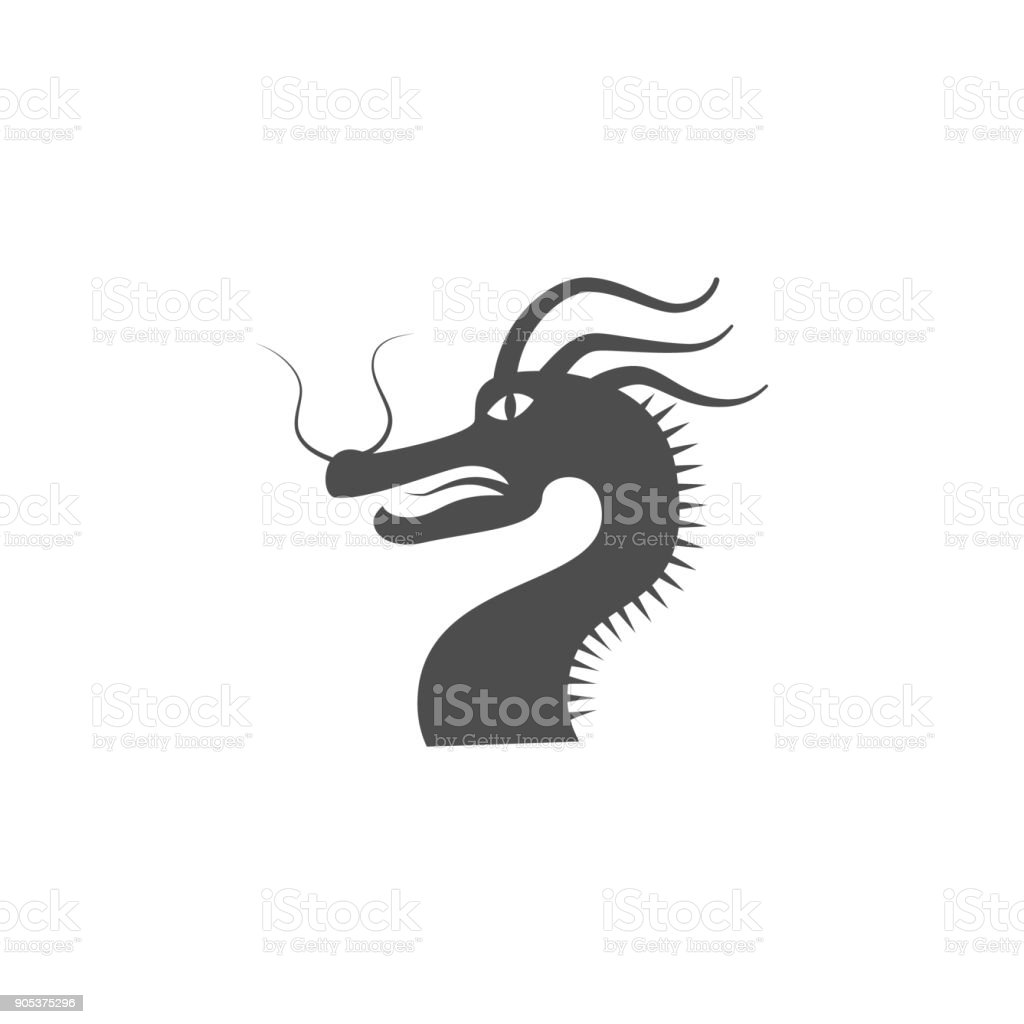 The Dragon Icon Elements Of Chinese Culture Icon Premium Quality