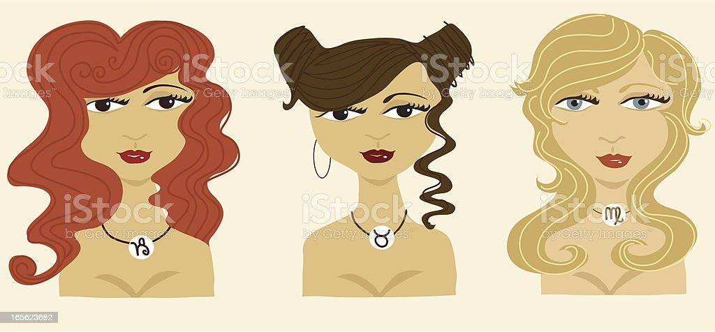 The Earth signs vector art illustration