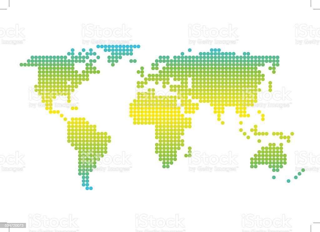 The Earth vector art illustration