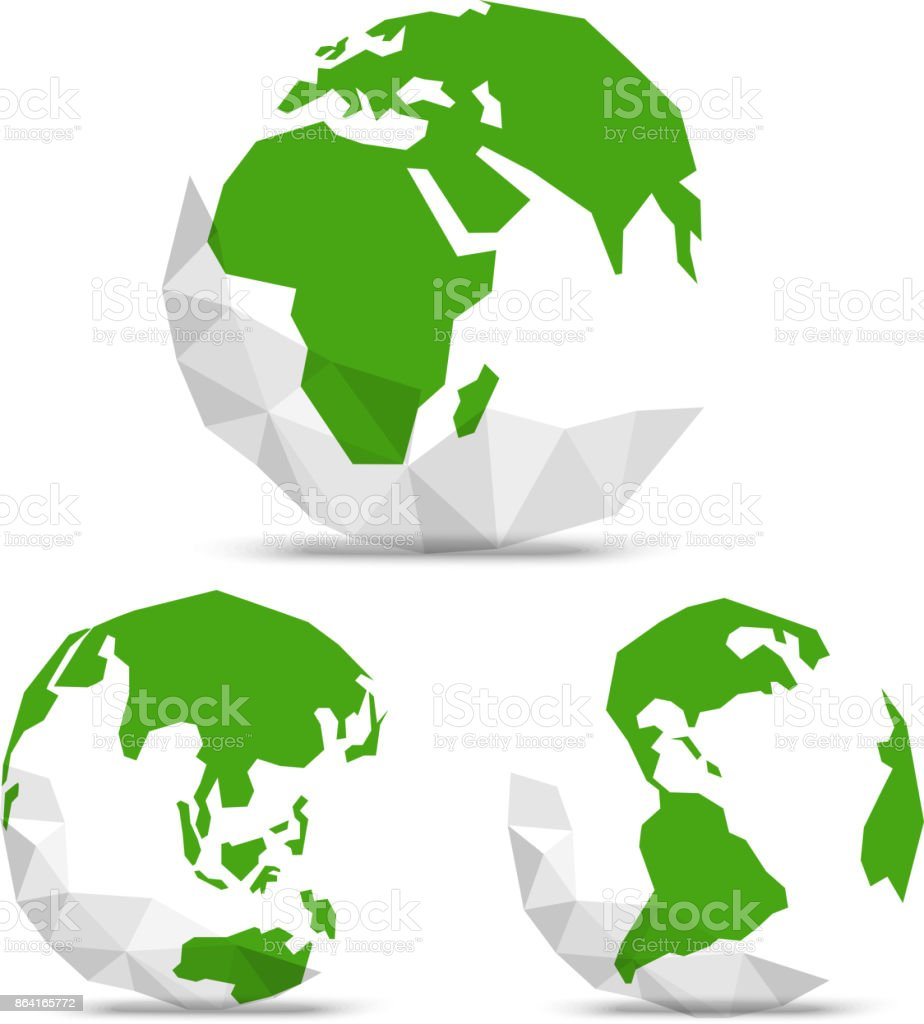 The Earth with abstract World map. Infographic template royalty-free the earth with abstract world map infographic template stock vector art & more images of abstract