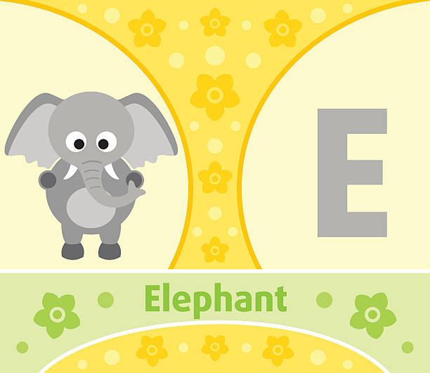 illustrations, cliparts, dessins animés et icônes de e lettre de l'alphabet anglais - enseignant(e) en maternelle