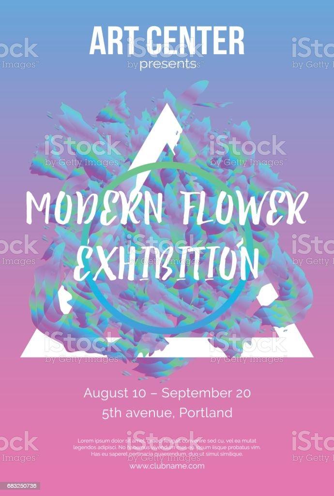 전시 예술 flayer royalty-free 전시 예술 flayer exhibition에 대한 스톡 벡터 아트 및 기타 이미지