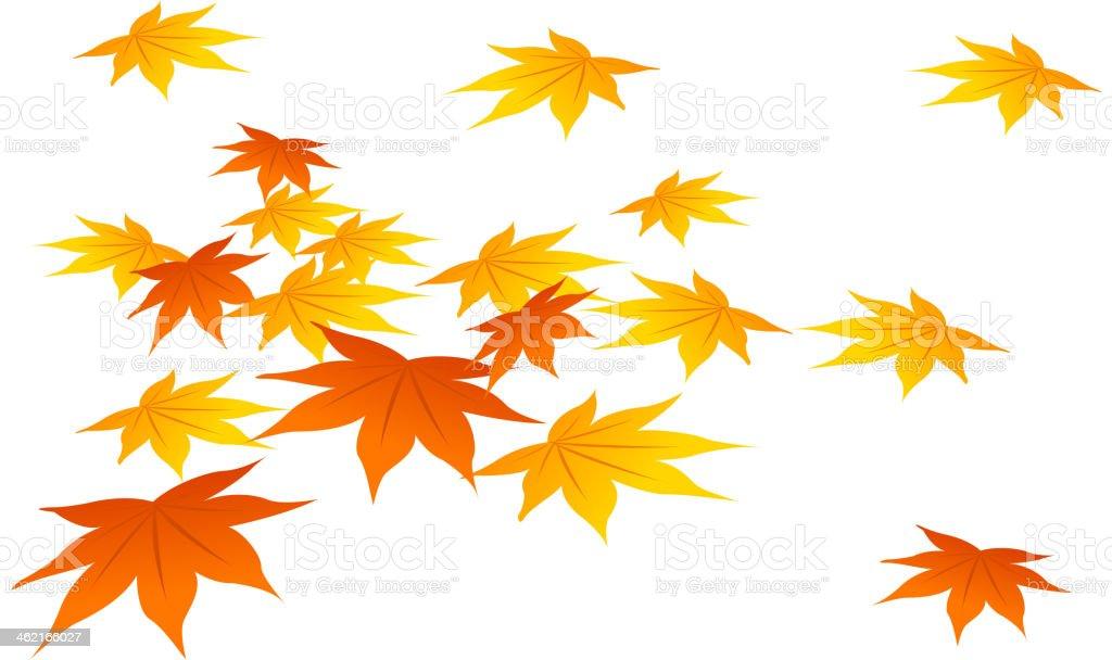Der Herbst Blätter Stock Vektor Art Und Mehr Bilder Von Clipart