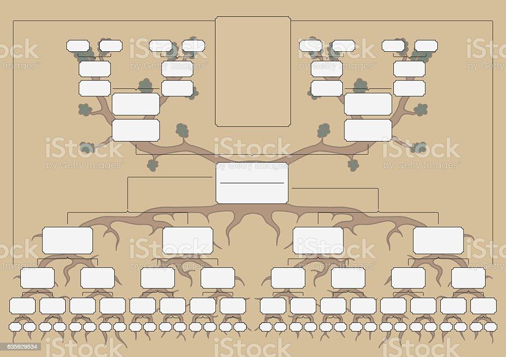 The family tree the family tree vecteurs libres de droits et plus d'images vectorielles de adulte libre de droits