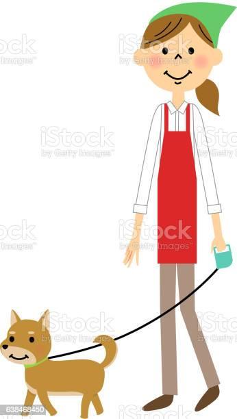 The female of the apron who strolls through a dog vector id638468450?b=1&k=6&m=638468450&s=612x612&h=tdaaz7sc3mpo4ff4 6s jpsinvhi5ljeu7q7kksnex4=
