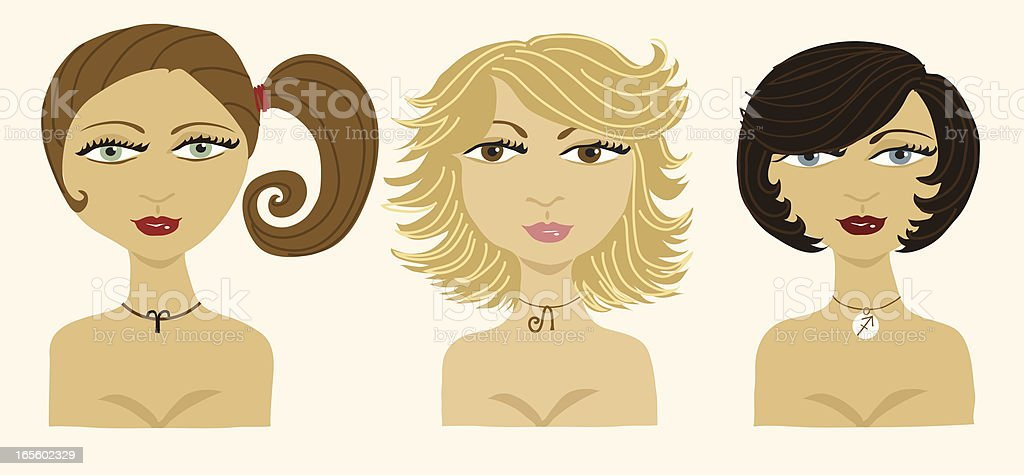 The Fire Signs vector art illustration