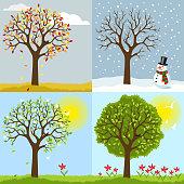 istock The four seasons 1074197364