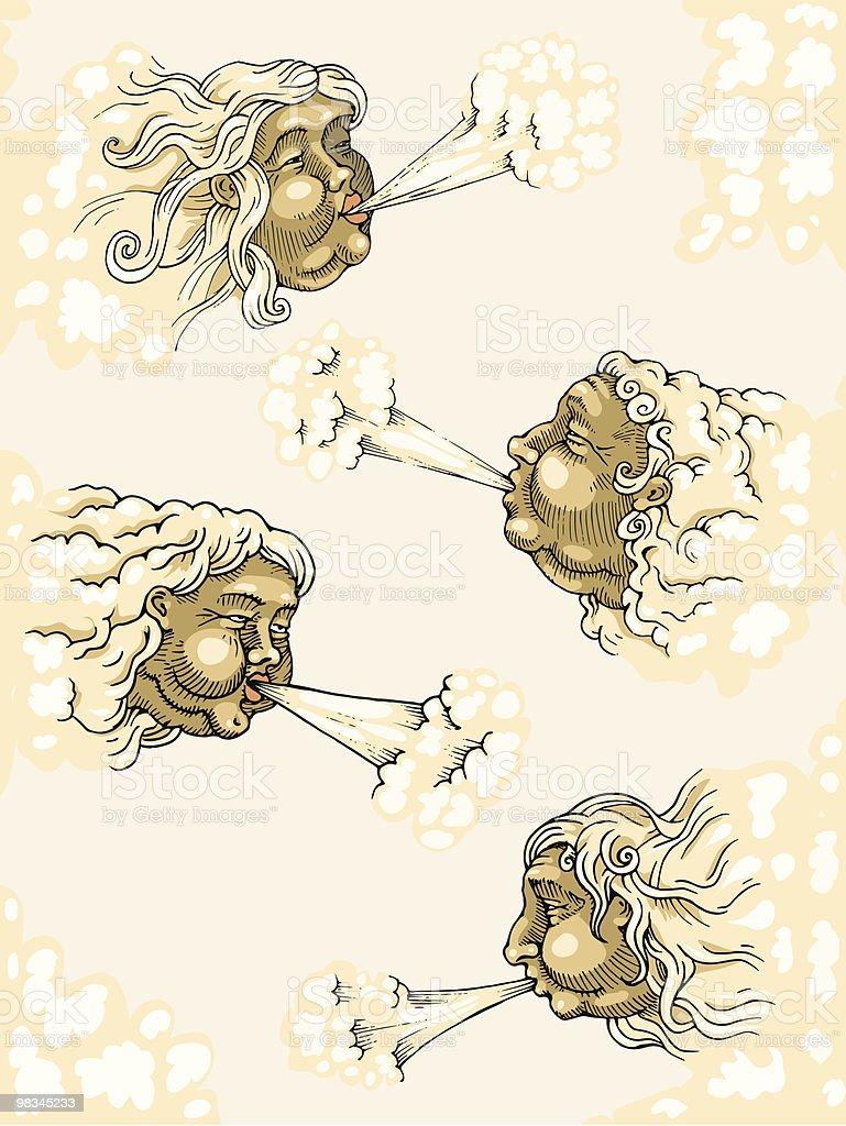 four winds royalty-free four winds 0명에 대한 스톡 벡터 아트 및 기타 이미지