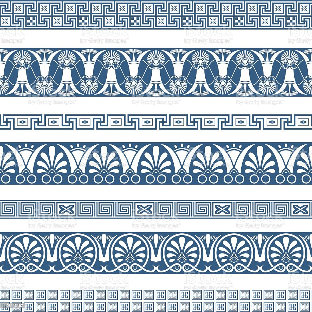 The Frames Of Ancient Greek Style Stock Vector Art & More