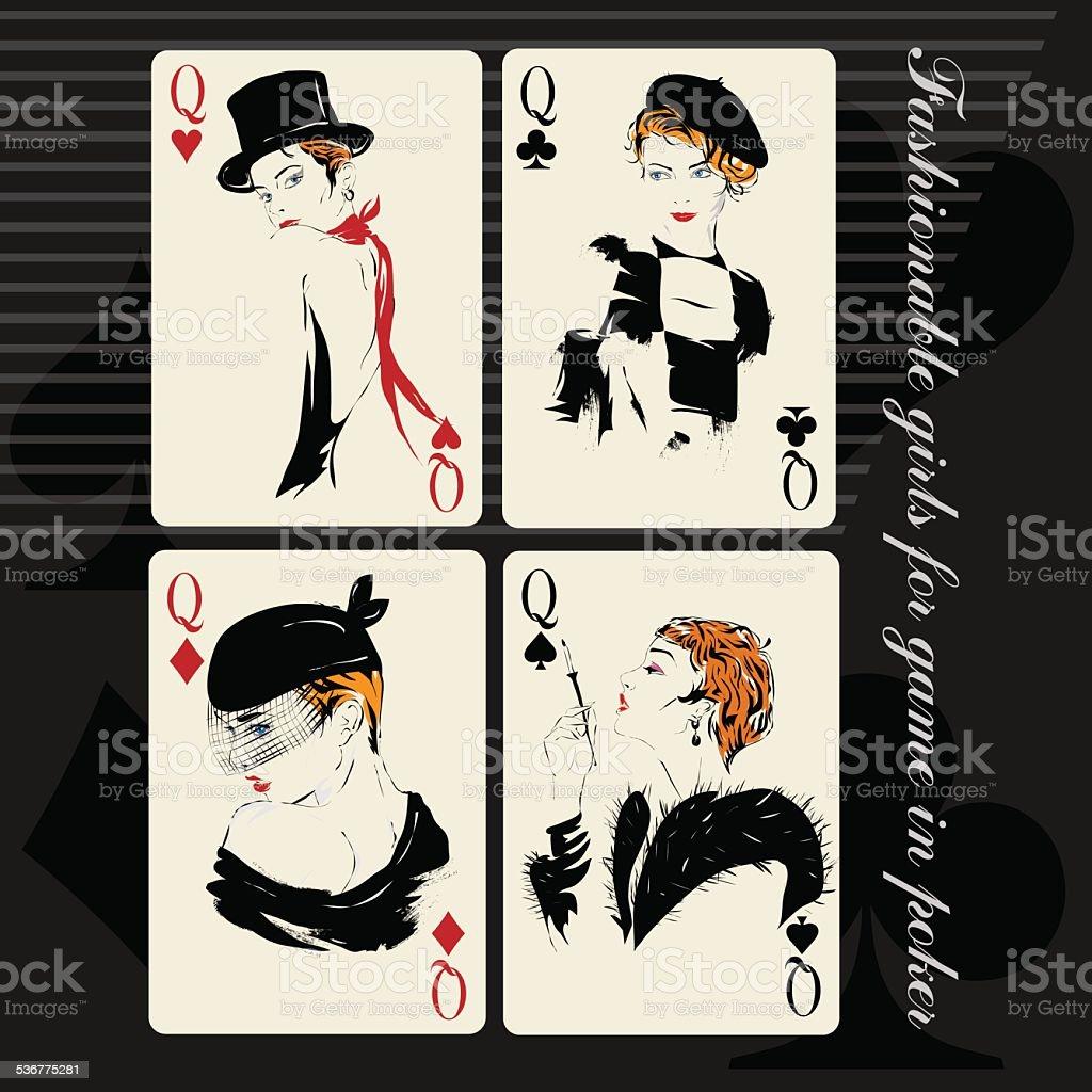 Девчонки играли в карты фото прохождение игры арчи барел казино голден палас