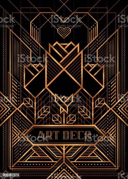 The great gatsby deco style vector golden roses and heart vector id909487374?b=1&k=6&m=909487374&s=612x612&h=8yjg 9g6y6dfrwwo5tbiicijb7dr8isnufjntgm 3g0=