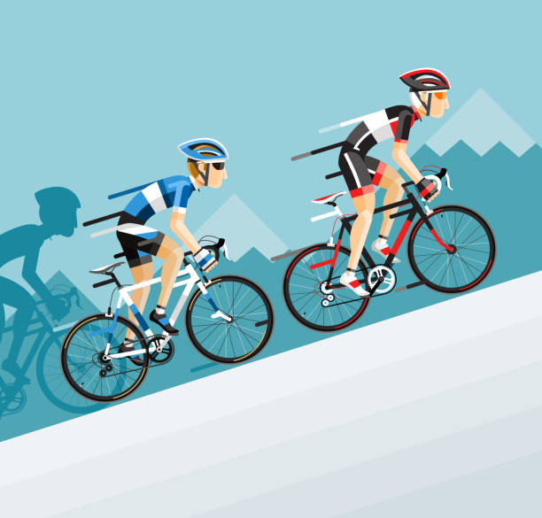 Best Bicycle Race Illustrations, Royalty-Free Vector Graphics & Clip