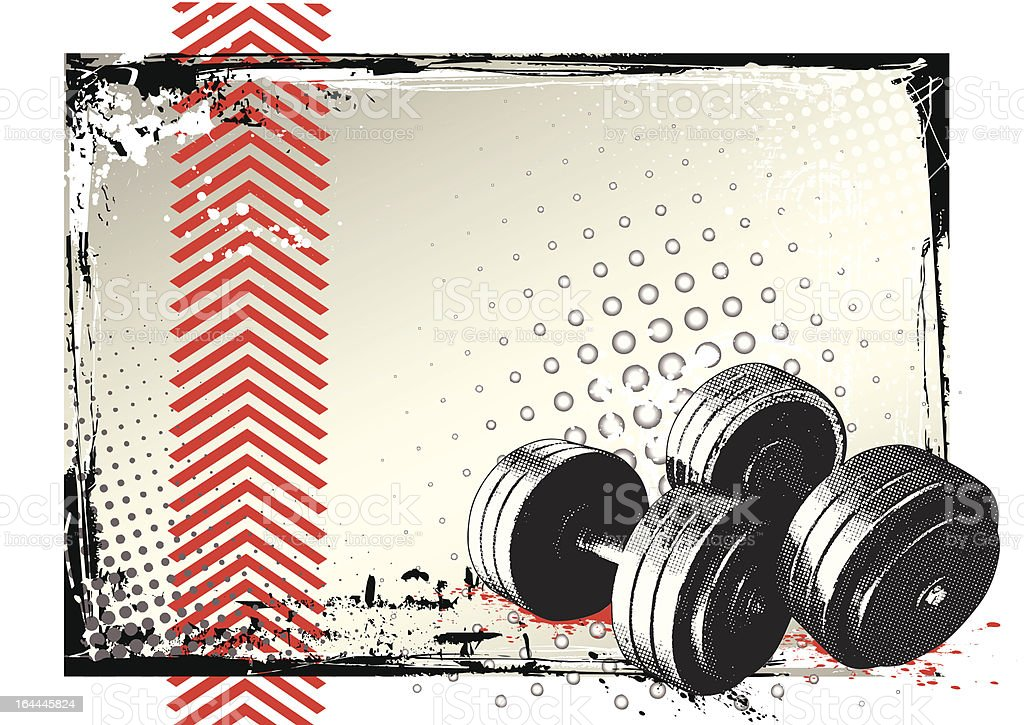 The Gym Poster royalty-free the gym poster stock vector art & more images of activity