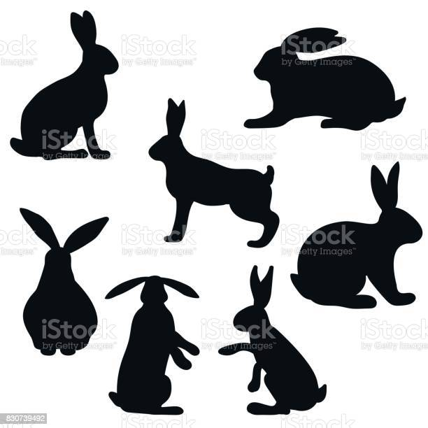 The hare and rabbit set of vector silhouettes vector id830739492?b=1&k=6&m=830739492&s=612x612&h=fjkagjkn96gisga1ntcezprbw tfax7mr3frs62s6w4=