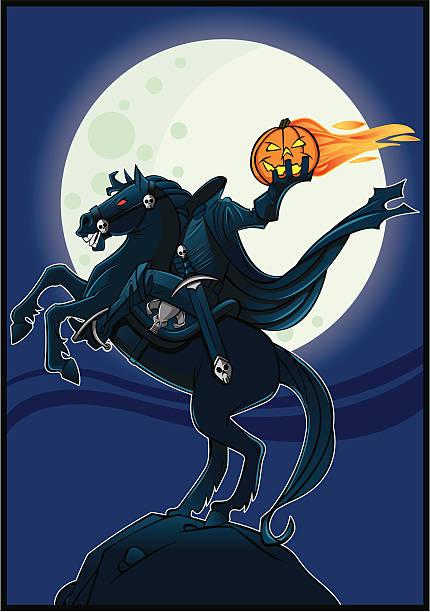 the headless horseman - 被砍頭 幅插畫檔、美工圖案、卡通及圖標