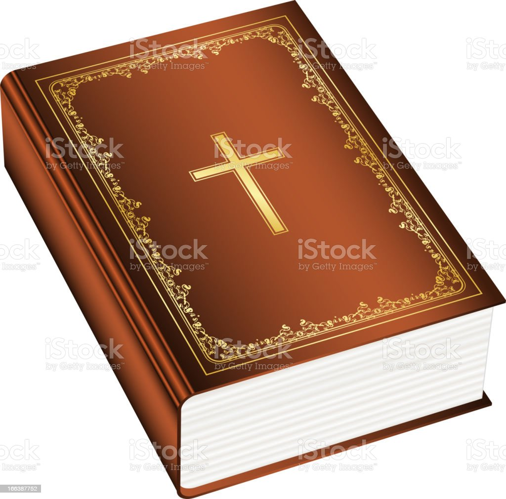 The Holly Bible royalty-free stock vector art