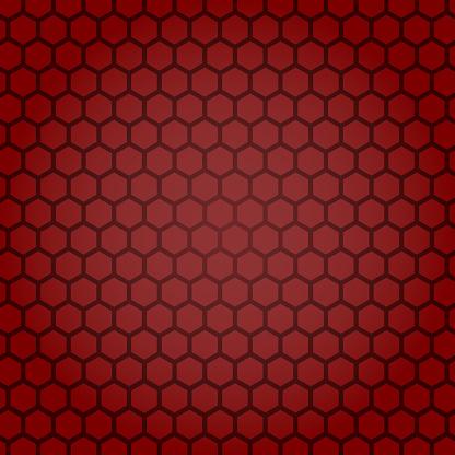 The honeycomb, hexagon stock illustration