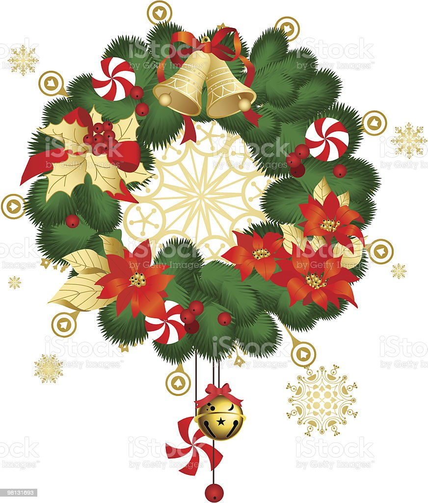 Сhristmas decoration royalty-free Сhristmas decoration stock vector art & more images of bell