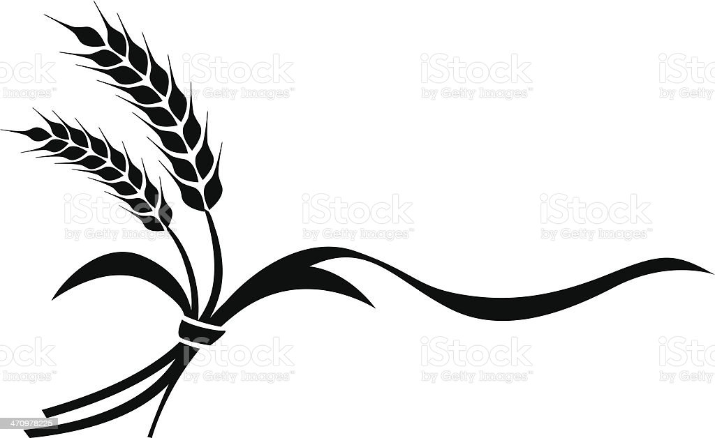the illustration of wheat stock vector art more images of rh istockphoto com wheat vector logo wheat vector art