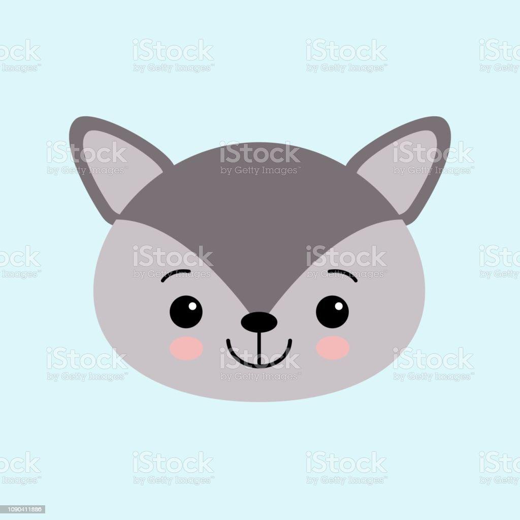 漫画のスタイルでかわいい小さな狼のイメージベクター子供のイラスト いたずら書きのベクターアート素材や画像を多数ご用意 Istock