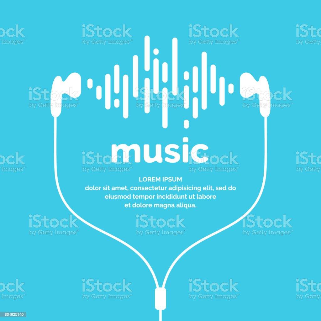 The image of the sound wave - arte vettoriale royalty-free di Affari finanza e industria