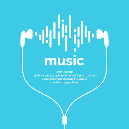 The Image Of The Sound Wave - Immagini vettoriali stock e altre immagini di Affari finanza e industria