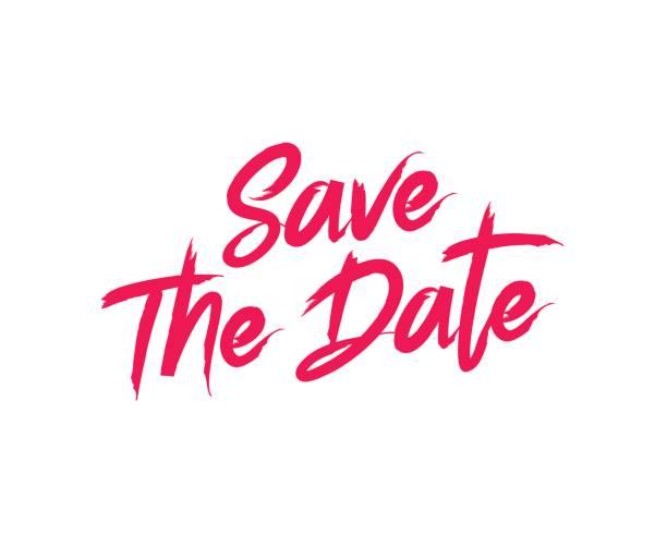 Save The Date Vektorgrafiken Und Illustrationen