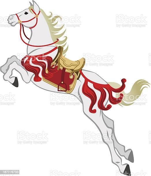 The jumping white horse isolated vector id187276733?b=1&k=6&m=187276733&s=612x612&h=reyggkihyuffayyt5tlqvemtxeou6n1tx4fjbg1eklm=