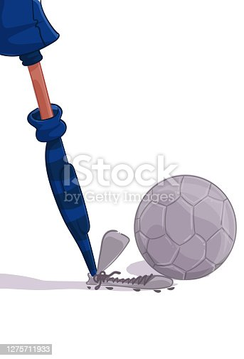 istock The Kicker (soccer) 1275711933