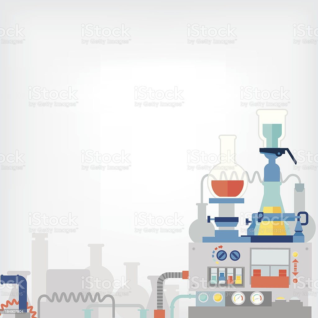 the laboratory royalty-free the laboratory stock vector art & more images of beaker