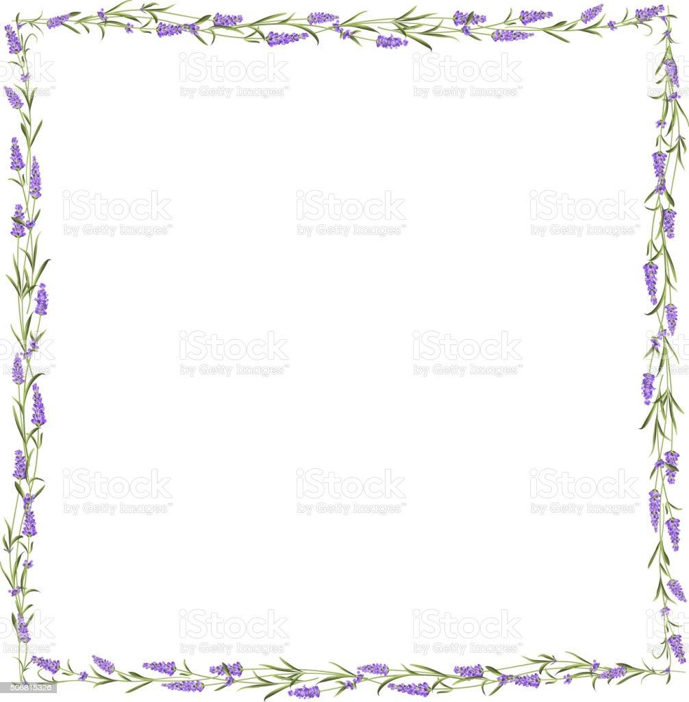 royalty free the lavender seamless frame line clip art vector rh istockphoto com  lavender border clipart