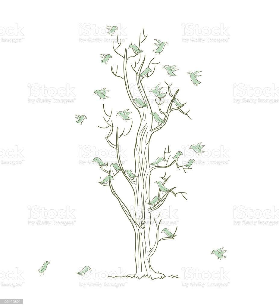 the living tree royalty-free stock vector art