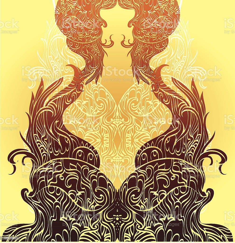 the living trees royalty-free stock vector art