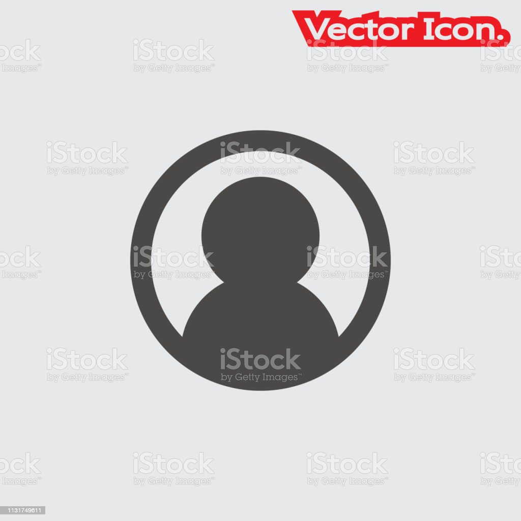 The Login Icon Isolated Sign Symbol And Flat Style For App