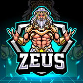 The lord of zeus mascot.