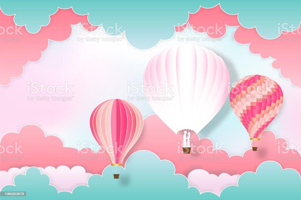globos aerostaticos de papel